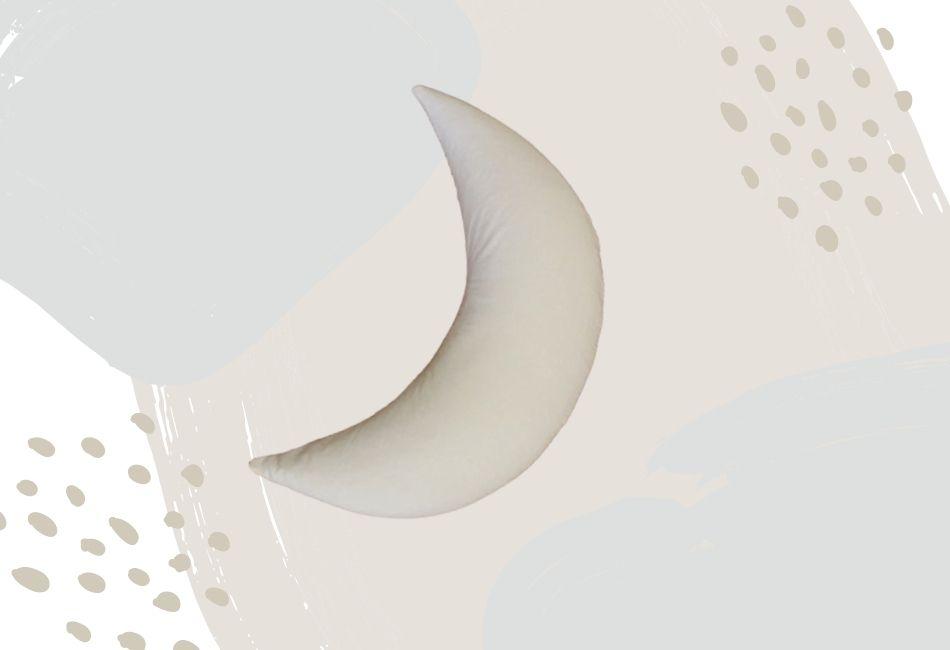 Bestes Stillkissen in Mond Form